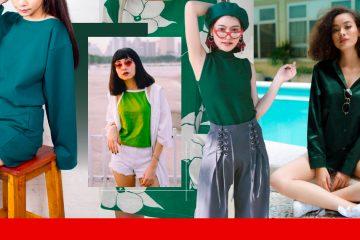 เสื้อผ้าสีเขียว