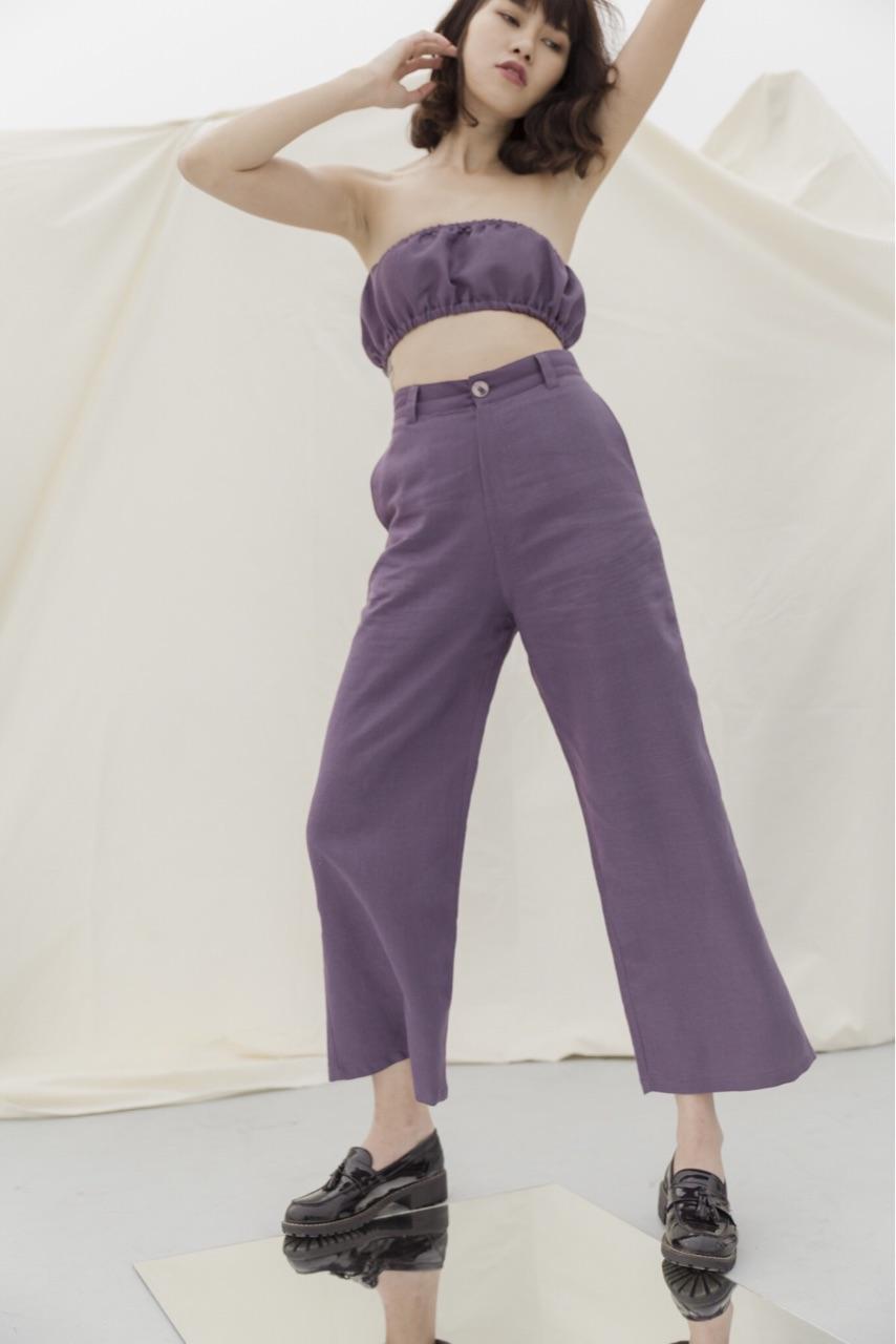 เสริมดวงการเงิน-กางเกงสีม่วง