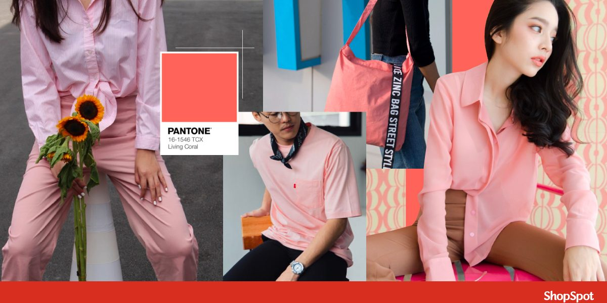 สี Pantone 2019