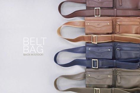 Belt bag สไตล์กระเป๋าคาดเอว