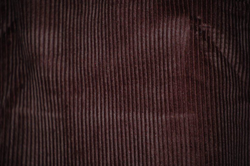 brown corduroy curtains