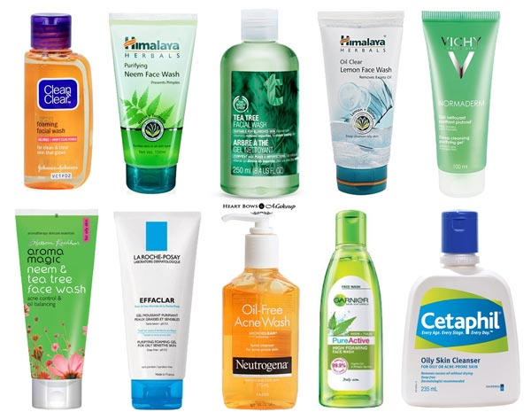 best-face-wash-acne-prone-skin-pimples-india-affordable-top-10