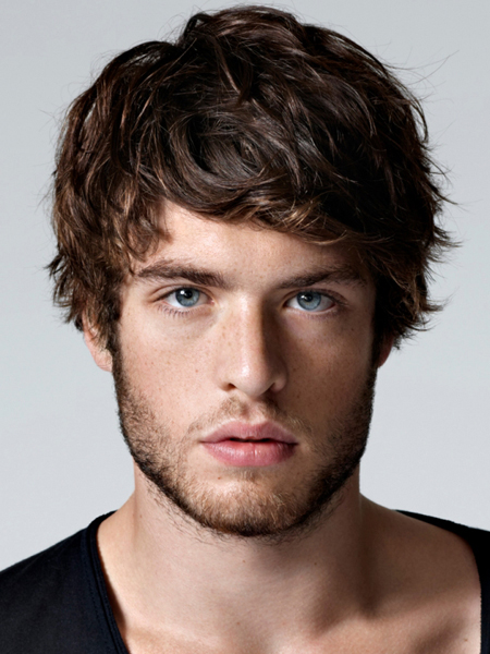 hairstyle-trends-2014-medium-length-messy-mens-hair-style-haircut-1