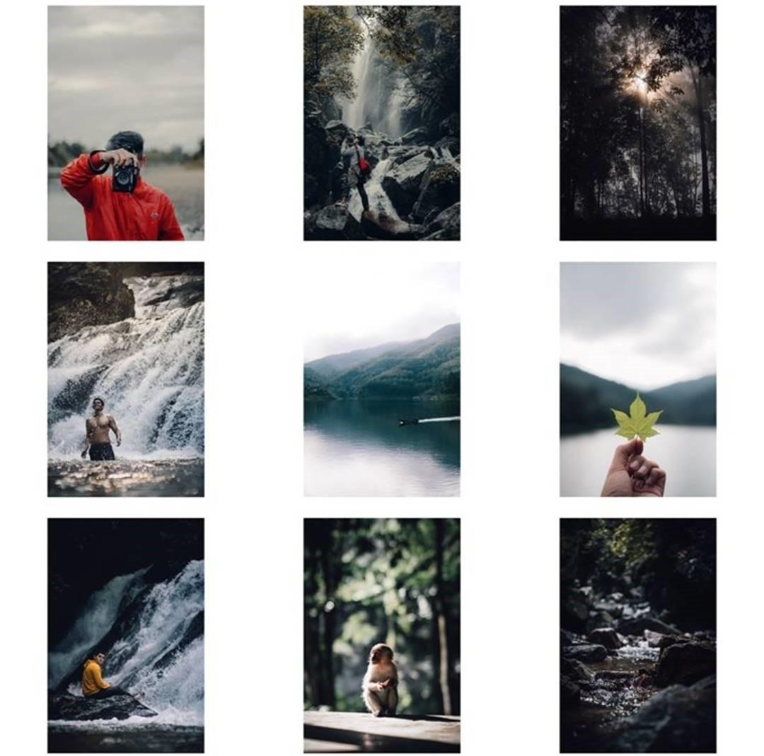instagram@ninekawit ลงรูปคุมธีม