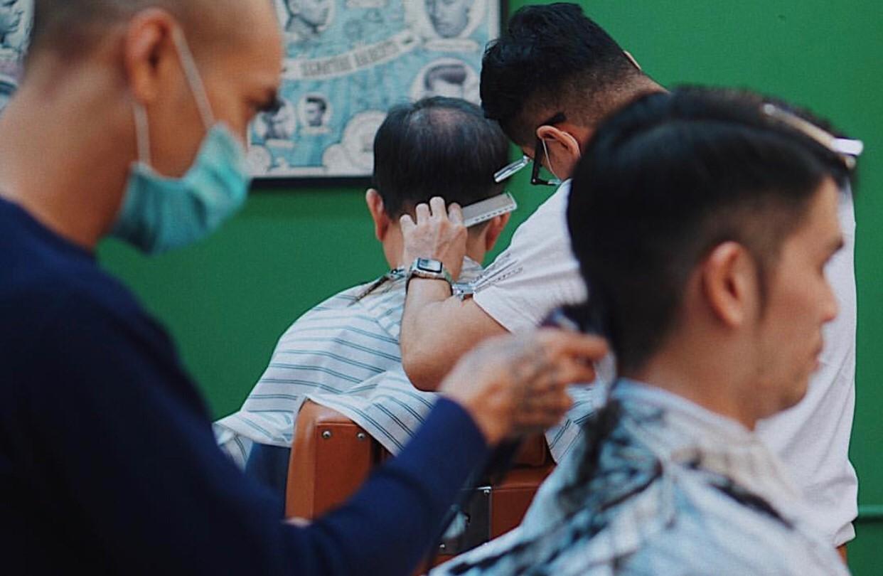 ร้านตัดผมผู้ชาย