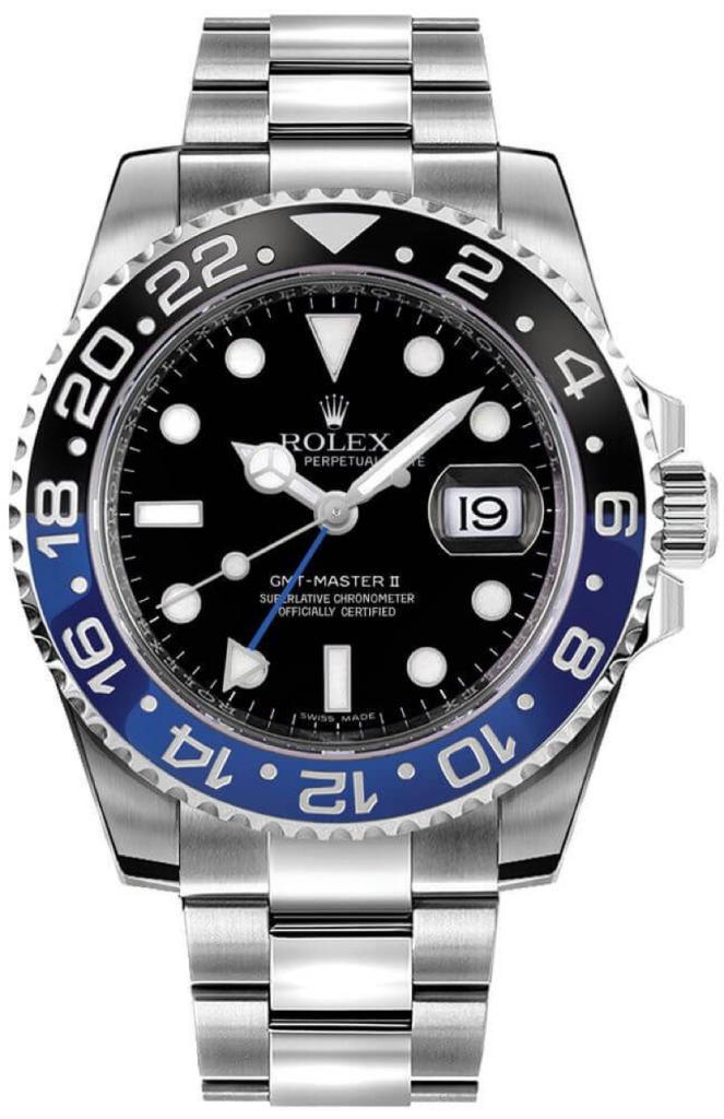 Rolex GMT-MASTER II Oystersteel
