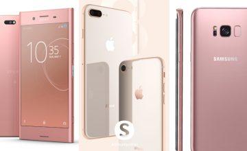 เปิดทำเนียบ สมาร์ทโฟนสีชมพู จาก 6 ค่ายดังเอาใจคนรักความละมุน