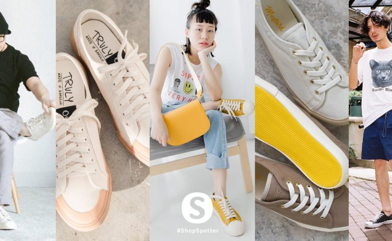 School Sneaker รองเท้าผ้าใบทรงนักเรียน ที่เอามาแมตช์ลุคเซอร์ๆได้ดีเวอร์