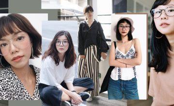 ส่องไอจี 11 สาวแว่น กับสไตล์การแต่งตัวสุดแนวของพวกเธอ