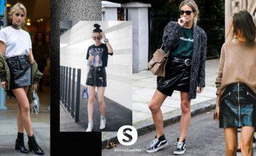 20 ลุค Leather Skirt กระโปรงหนังแฟชั่นของสาวชิค ต้อนรับลมหนาวที่กำลังมา
