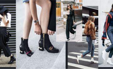 Ankle Boots เสริมลุคหนาวแบบชิคๆ ด้วยรองเท้าที่กำลังมาแรงในซีซั่นนี้