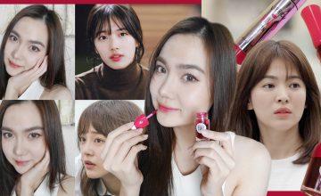 Review : Lip Tint แบรนด์เกาหลี สีไหนทาแล้วกลายเป็น 'นางเอกซีรีส์'