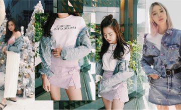 How to Match แจ็คเก็ตยีนส์ สไตล์เกาหลี ด้วยเสื้อผ้าสีพาสเทล มุ้งมิ้งๆ