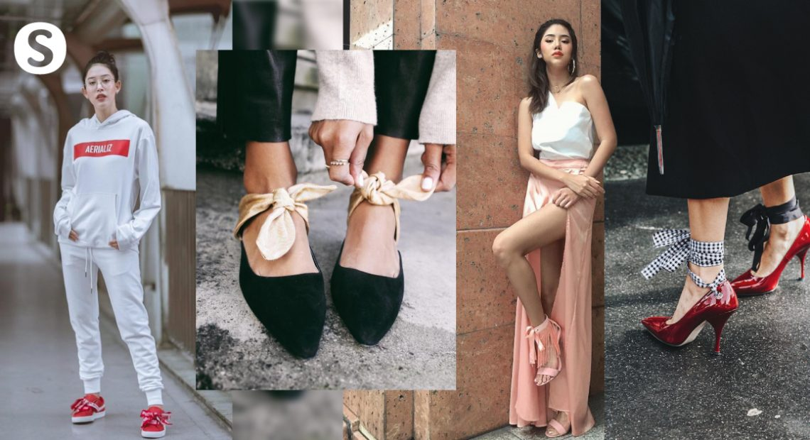 Ribbon Shoes รองเท้าสุดคิวท์ Mix & Match ได้หลายสไตล์