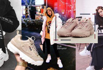 FILA Disruptor – Trendy Sneaker 2018 สนีกเกอร์ที่ทุกคนต้องมี!