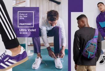 แมตช์สีม่วง Ultra Violet สี Pantone 2018 ยังไงให้เท่?
