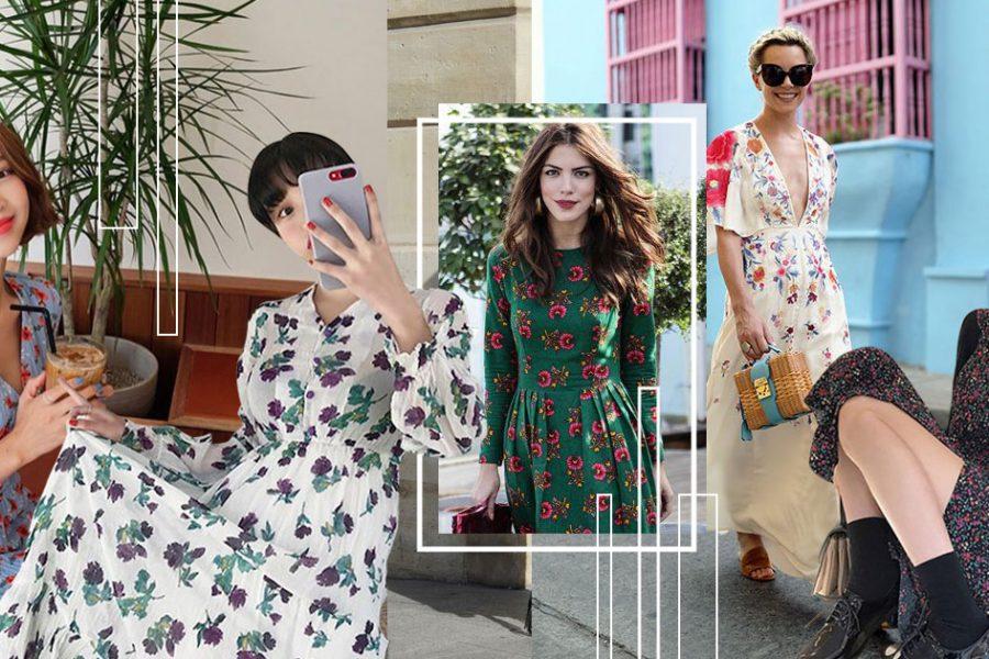 ชิคสุดในซัมเมอร์นี้! ด้วยการสะบัด Floral Maxi Dress ผ้าพลิ้ว ลายดอก สุดเก๋