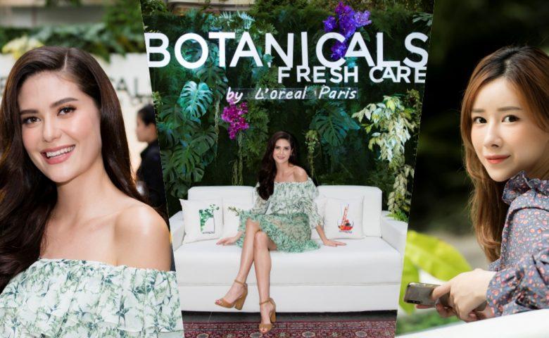 มารีญา บอกต่อเคล็ดลับผมสวยมงลง ด้วย L'oreal Botanicals Fresh Care