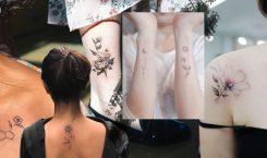Floral Tattoo รวม รอยสัก 'รูปดอกไม้' สำหรับสายหวานปนเท่