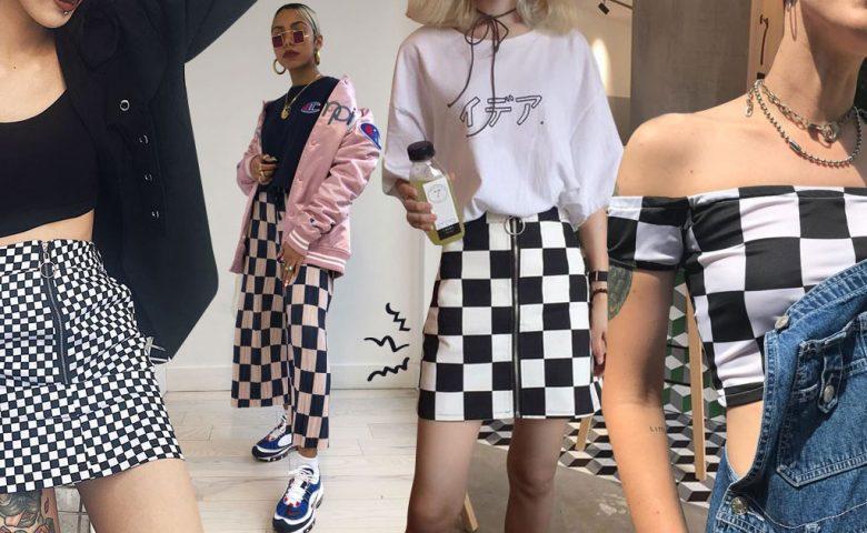 80 ลุคแฟชั่น ลายตารางหมากรุก 'Checkered' สุดชิคที่สายสตรีทต้องห้ามพลาด !!!