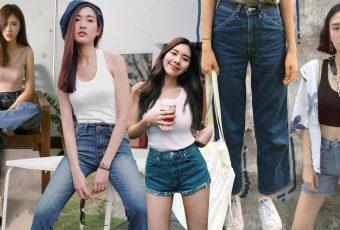 Tank Top x Jeans คู่แมตช์สุดเบสิคที่ใส่เมื่อไหร่ก็รอด