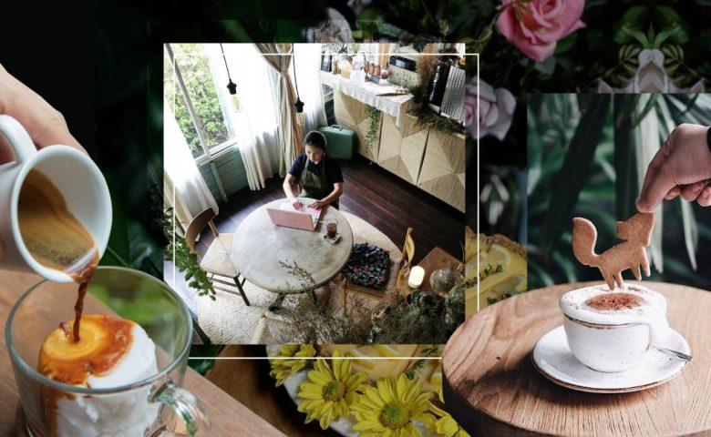 Green Cafe พาไปจิบกาแฟในป่ากับ 'คาเฟ่ธรรมชาติ' ที่มีแต่สีเขียว