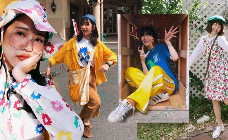 5 สาว Colorful Idols กับการแมตช์ลุคสีสัน จัดจ้านแต่ลงตัว
