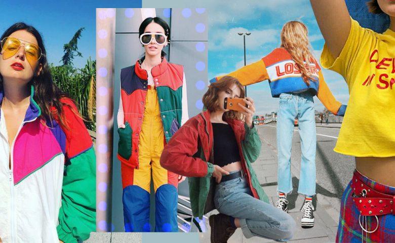 Colorful 90s มาจับเสื้อผ้าสีสดใสให้ดูคูล ๆ กับสไตล์ 90s