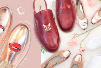 เบื่อแล้วรองเท้าสีพื้น เติมความสดชื่นด้วย 'ลายปัก' ดีกว่า!