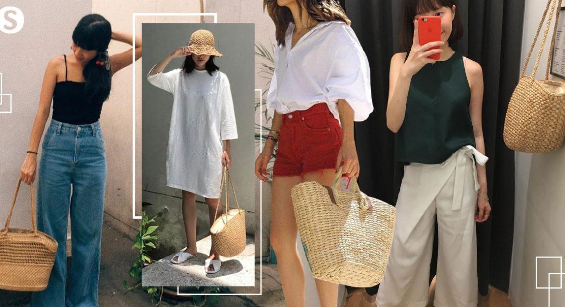 "How to be Eco Girl : มาแมทช์ "" กระเป๋าสาน "" กับสไตล์ที่เป็นคุณ"