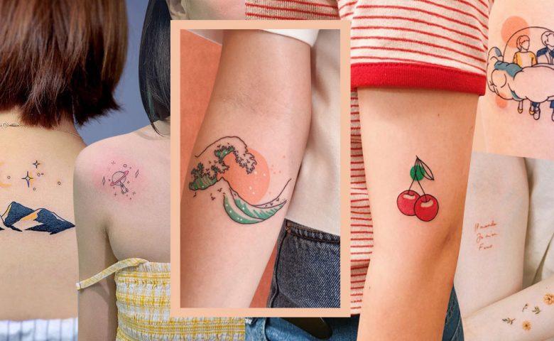 My Tattoo is Colorful รวมลาย 'สักสี' ให้ดูคูลแบบสดใส