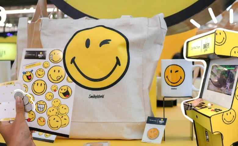 THE SMILEY ARCADE เกมส์เซ็นเตอร์ธีม SMILEY ครั้งแรกในไทย!