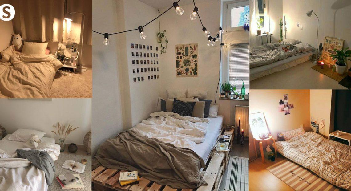 Life without bed ไอเดียวิธีแต่ง ห้องนอนแบบไม่มีเตียง