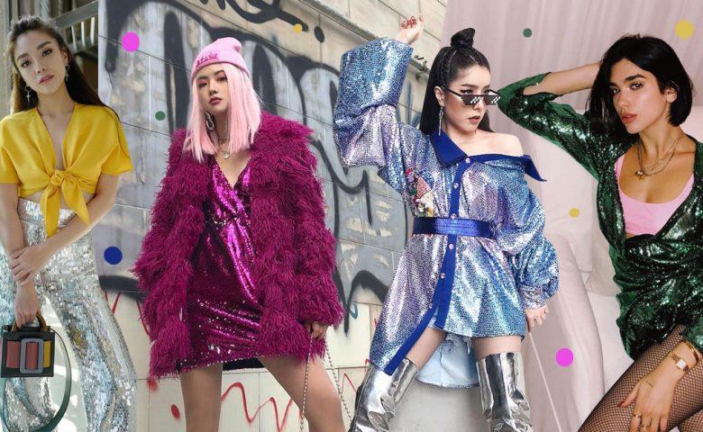 Glitter Outfits ระยิบระยับ อัพความปังในคืนปาร์ตี้