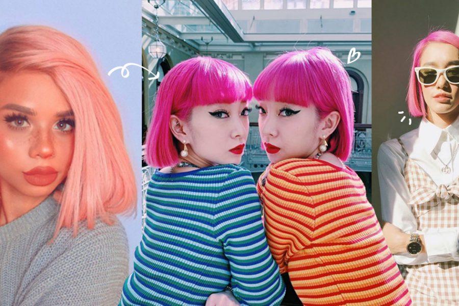 7 Shades of Pink Hair ไอเดียสีผมโทนชมพู ฉีกลุคใหม่ให้สดใสซาบซ่า