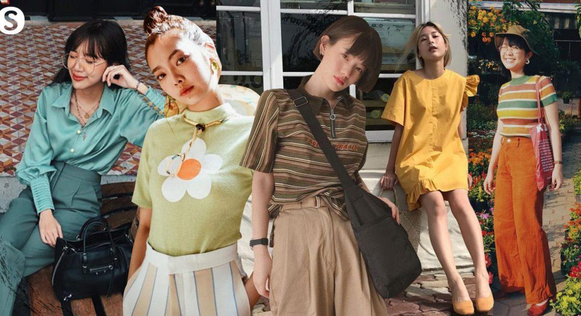 5 โทนสี Vintage Colors แต่งตัวย้อนยุคแบบชิค ๆ อย่างสาวมีสไตล์