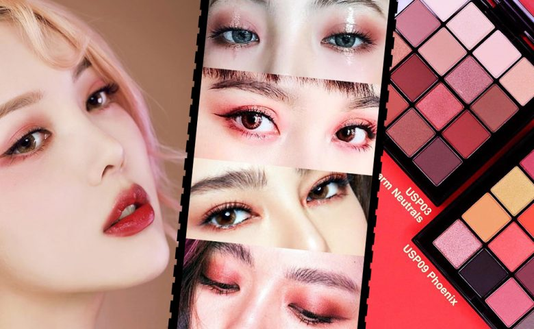 Red Eye Makeup แต่งตาโทนแดงจัดจ้านร้อนแรงระดับตัวแม่