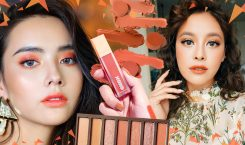 Orange Makeup เติมออร่าแจกความสดใสด้วยการแต่งหน้าโทนส้ม