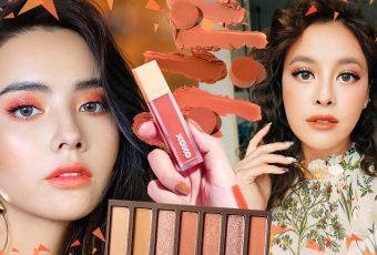 Orange Makeup เติมออร่าแจกความสดใสด้วยการแต่งหน้าโทนส้ม