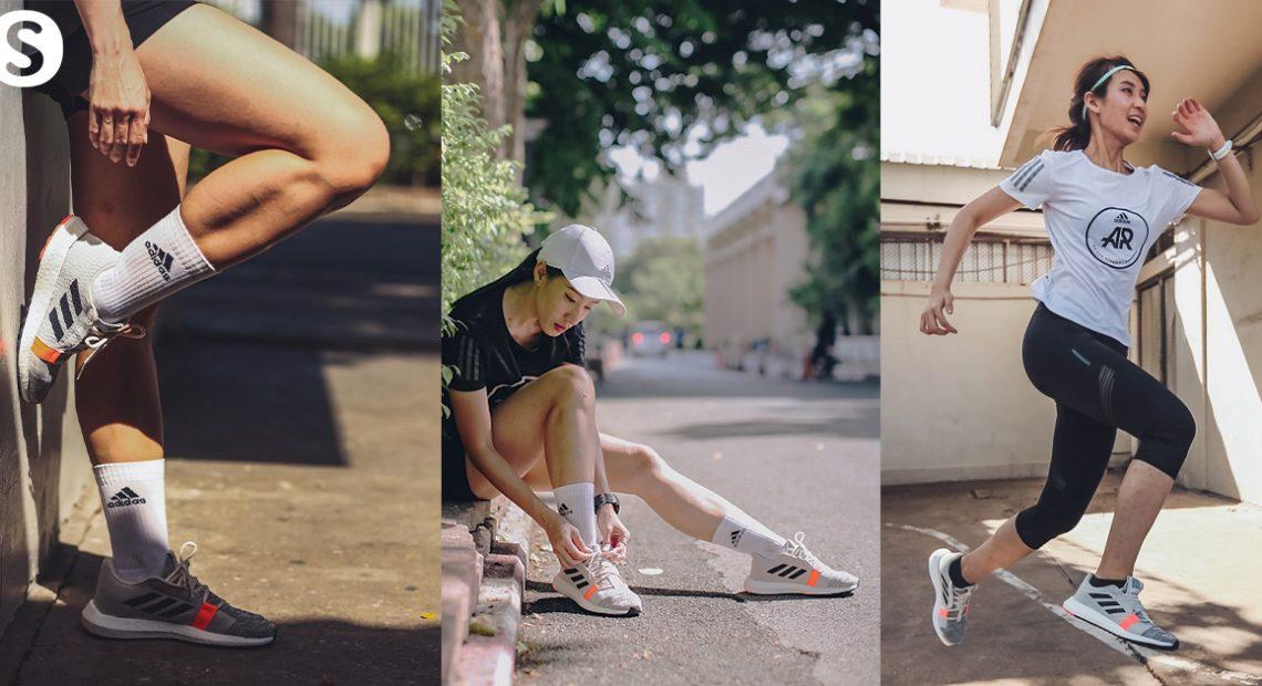 'Senseboost Go' รองเท้าสุดเจ๋งเอาใจสาย City Run จาก Adidas