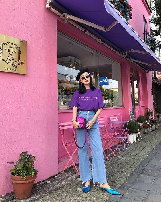 ไอเดียแฟชั่นโทนสีม่วง ที่ So cute แถมดูชิคสุดๆ!!