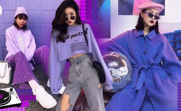 Purple Girl 💜 แฟชั่นโทนสีม่วง ที่ So cute แถมดูชิคสุดๆ!!