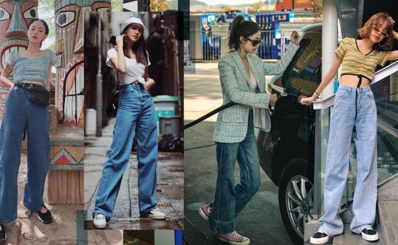 Wide Jeans ไอเท็มฮอตประจำซีซั่น ที่ใส่กับอะไรก็เป๊ะเวอร์