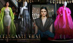 พาชม! L'ELEGANTE THAI นิทรรศการแฟชั่นสุดเอ็กซ์คลูซีฟ ณ ICONSIAM ที่คนรักผ้าไทยพลาดไม่ได้