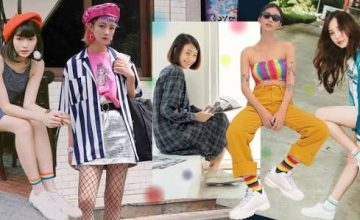 Rainbow Socks x White Sneakers ใส่ผ้าใบขาวแต่เพิ่มลูกเล่นด้วยถุงเท้าสีสันกัน!