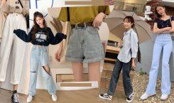 ทริคแมทช์ 'กางเกงยีนส์' ชิค ๆ สวยใส สไตล์เกาหลี