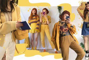 รวม 20 ไอเดียเสื้อผ้า 'สีเหลือง' สดใสแมทช์ง่าย ไม่มีตกเทรนด์