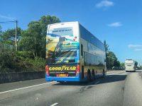 Goodyear Bus Advertising