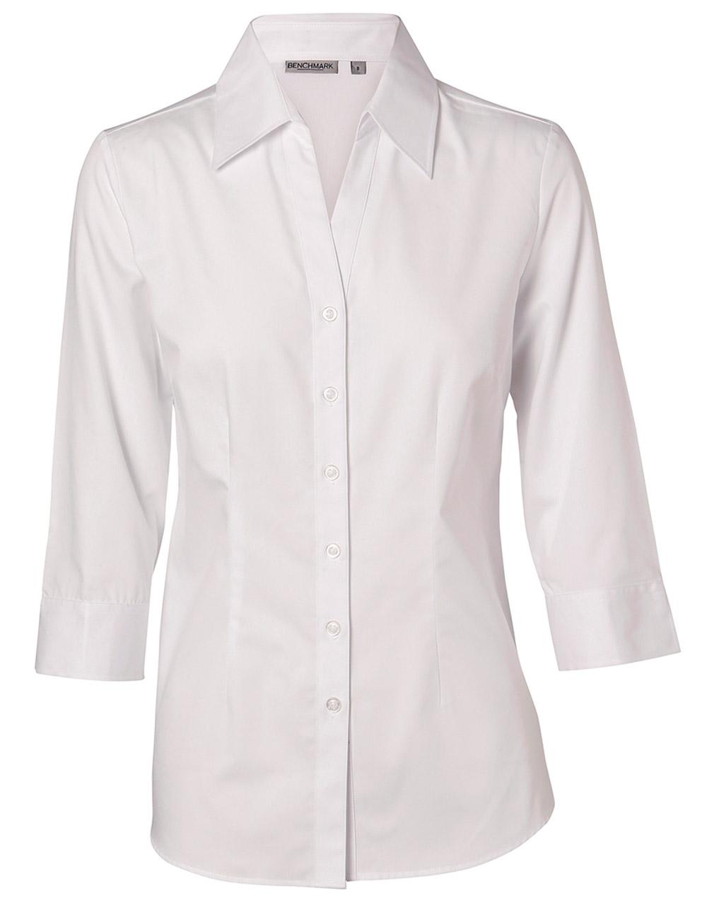 m8003 women u0026 39 s nano  u2122 tech 3  4 sleeve shirt