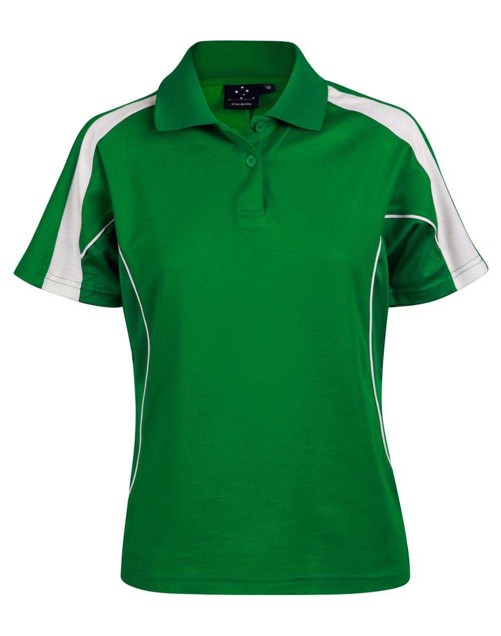 Emerald Green.White